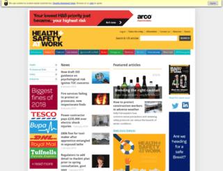 healthandsafetyatwork.com screenshot