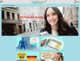 healthange.com screenshot