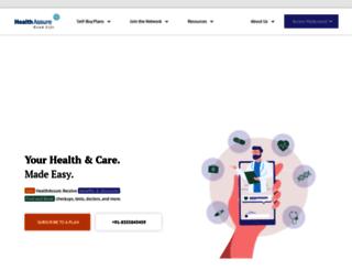 healthassure.in screenshot