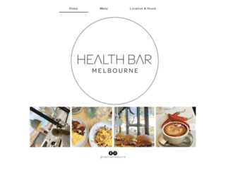 healthbarmelbourne.com screenshot