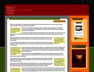 healthblog.healthyhuman.net screenshot