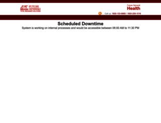 healthbuzzportal.futuregenerali.in screenshot