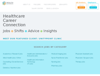 healthcallings.com screenshot
