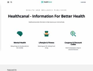 healthcanal.com screenshot