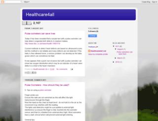 healthcare4all-uk.blogspot.com screenshot