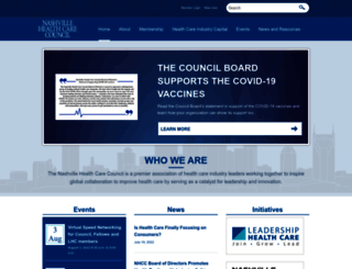 healthcarecouncil.com screenshot