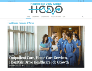 healthcaredegreesonline.com screenshot