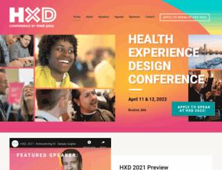 healthcareexperiencedesign.com screenshot