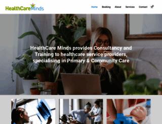 healthcareminds.ie screenshot