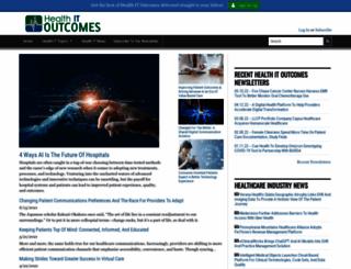 healthcaretechnologyonline.com screenshot