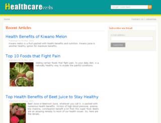 healthcareveda.com screenshot