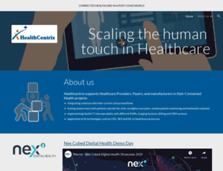 healthcentrix.com screenshot
