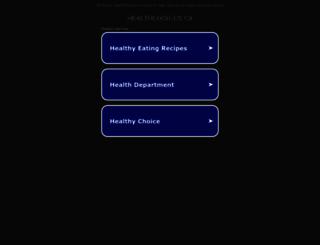 healthchoices.ca screenshot