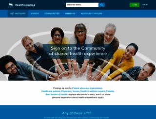 healthcosmos.com screenshot