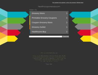 healthcouponsclub.com screenshot