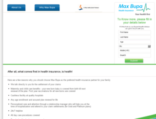 healthcoverpolicy.com screenshot