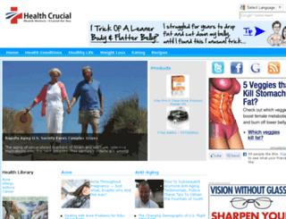 healthcrucial.com screenshot