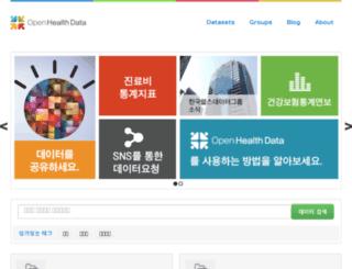 healthdata.kr screenshot