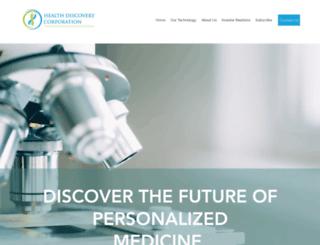 healthdiscoverycorp.com screenshot