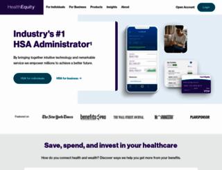 healthequity.com screenshot