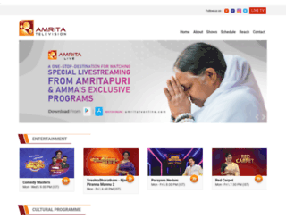 healthexpo.amritatv.com screenshot