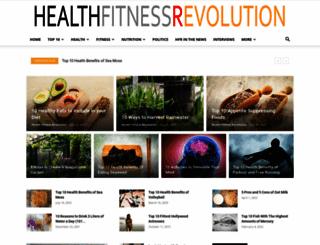 healthfitnessrevolution.com screenshot