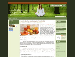 healthfitzone.blogspot.com screenshot