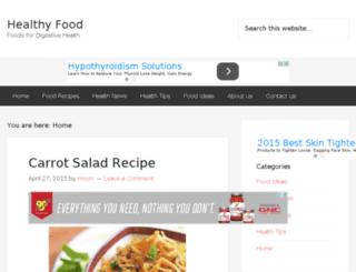 healthfoodforpeople.com screenshot