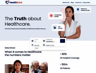 healthfront.com screenshot