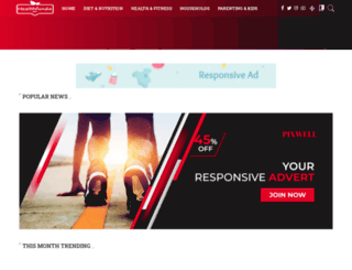 healthfunda.net screenshot