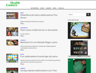 healthgamers.com screenshot