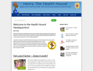 healthhound.org screenshot