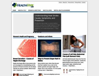 healthhype.com screenshot