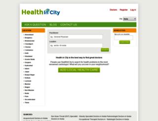 healthincity.com screenshot