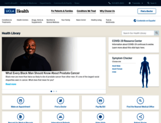 healthinfo.uclahealth.org screenshot