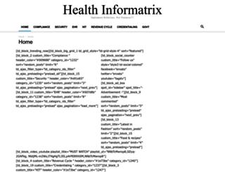 healthinformatrix.com screenshot