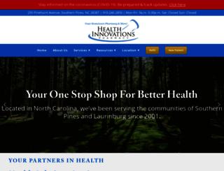 healthinnovationspharmacy.com screenshot