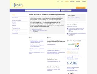 Hinari Bugmenot at top accessify com