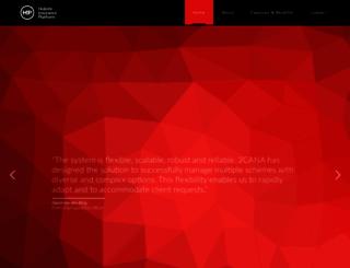 healthip.co.za screenshot