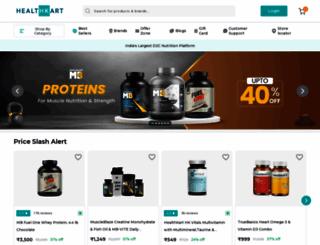healthkart.com screenshot
