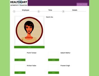 healthkart.simplybook.me screenshot