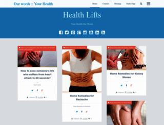 healthlifts.blogspot.com screenshot