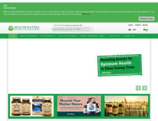 healthmantra.co.uk screenshot