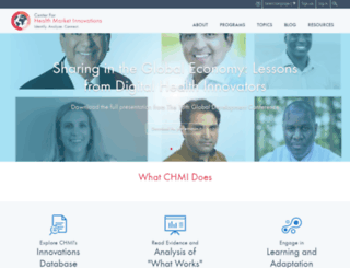 healthmarketinnovations.org screenshot