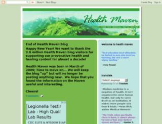 healthmaven.blogspot.com.au screenshot