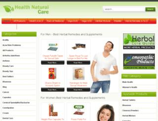 healthnaturalcare.com screenshot