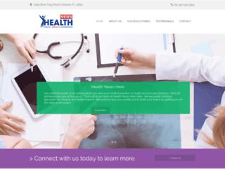 healthnewshere.com screenshot