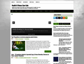 healthnfitnesscare.blogspot.com screenshot
