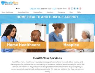 healthnowca.com screenshot