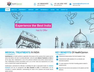 healthopinion.net screenshot